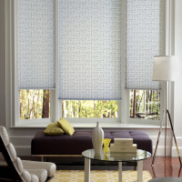 pleated shades-hunter-douglas
