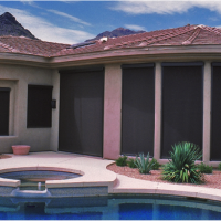 patio door treatments Gallery of Shades Scottdale AZ