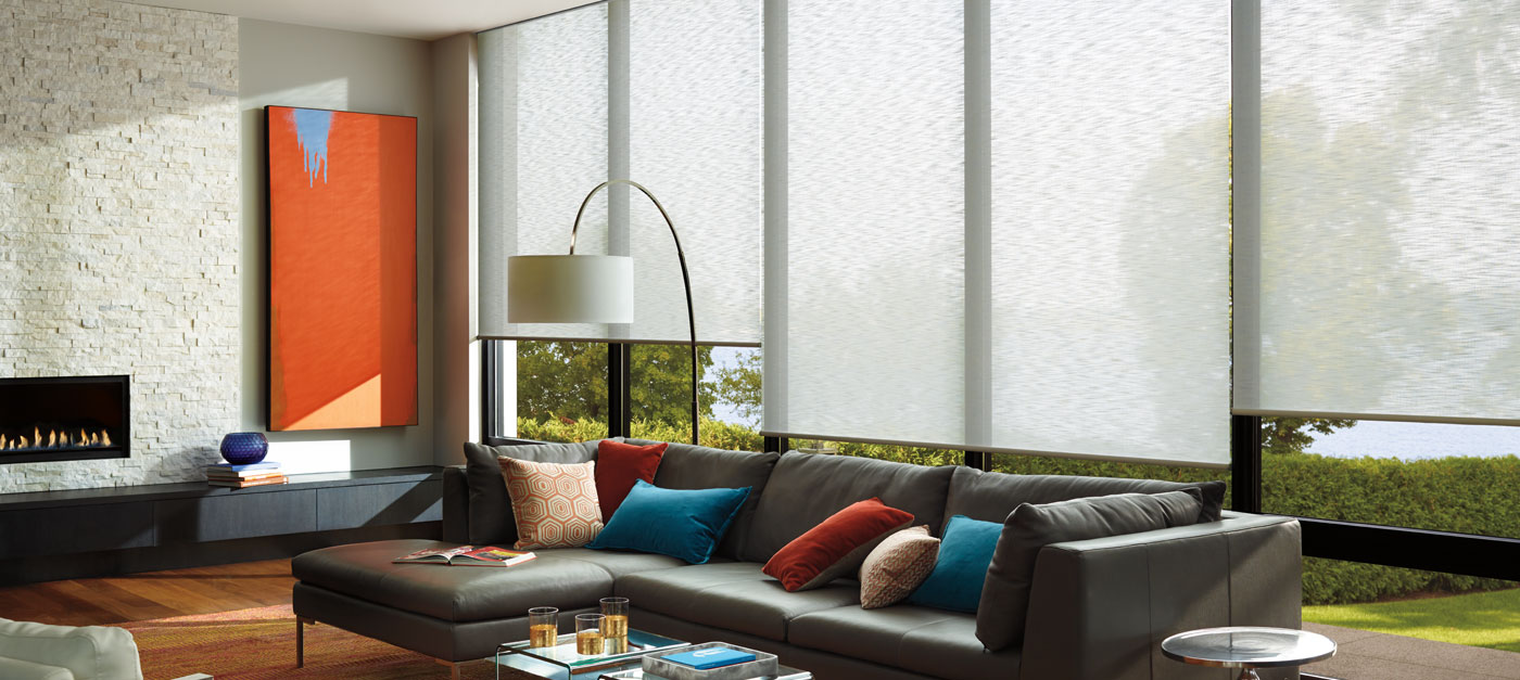 Custom Roller Shades Hunter Douglas Gallery of Shades Scottsdale AZ