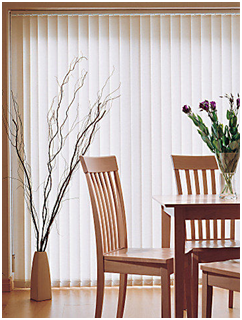 Vertical Blinds Offer Protection From The Desert Heat