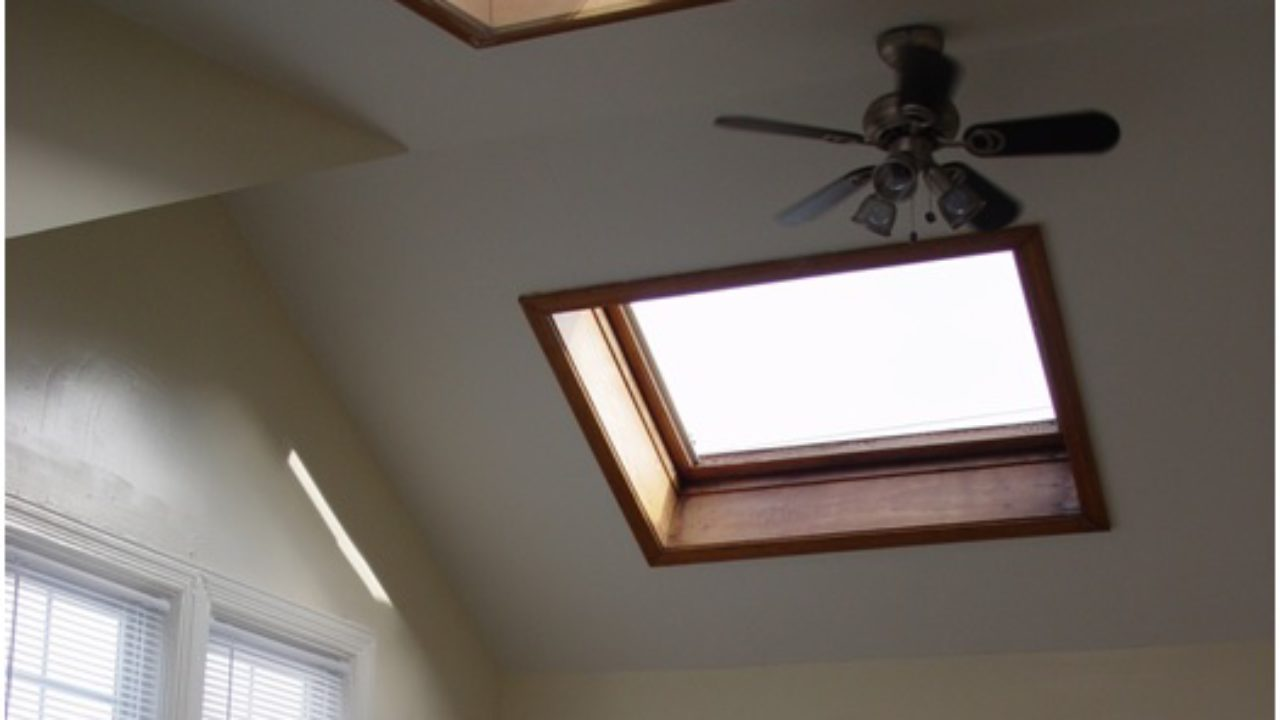 Skylight Shades Cut Down On Excessive Heat